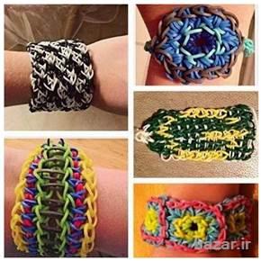 دستبند فانی بافت fun loom