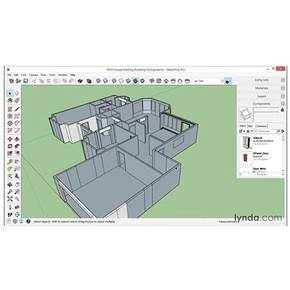 آموزش طراحی دکوراسیون داخلی بوسیله نرم افزار Sketch Up
