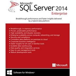 نرم افزار Microsoft SQL Server 2014 Enterprise Edition