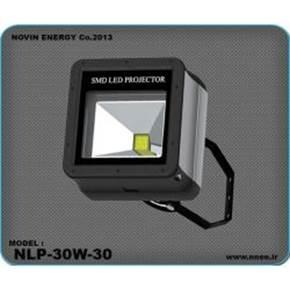 چراغ 30 وات ال ای دی-پروژکتور 30 وات ال ای دی-روشنایی led-نورپردازی محوطه-روشنایی ال ای دی خیابان و محوطه-چراغ ال ای دی
