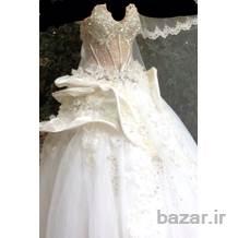 فروش لباس عروس ایتالیایی فوق العاده شیک وتمیز